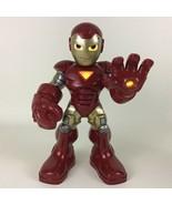 "Battle Ready Iron Man 11"" Figure Talking Lights Sounds Super Hero Hasbro... - $24.70"