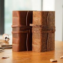 Vintage Journals Notebook Genuine Leather Handmade Gift Diary Sketchbook... - $43.24