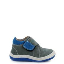Boy's Rilo gray leather baby shoe  - $38.98
