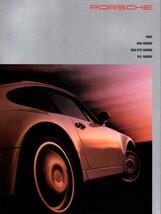 1993 Porsche Series  911 968 928 GTS Sales Brochure  Carrera Tiptronic T... - $14.24