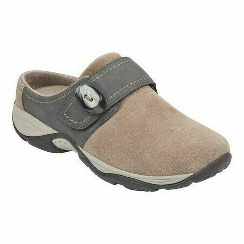 Size 7.5M, Easy Spirit Equip Womens Mules Taupe New in box Free Shipping - $48.84 CAD