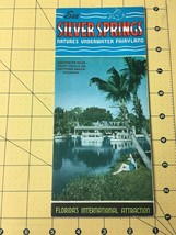 Vintage See Silver Springs Nature' Underwater Fairyland Florida's Intern... - $19.55