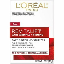 L'Oreal Paris Skincare Revitalift Anti-Wrinkle and Firming Face and Neck... - $10.84