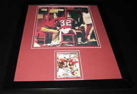 Anthony Thompson Signed Framed 11x14 Rookie Card & Photo Display Indiana - $60.41