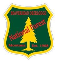 Beaverhead Deerlodge National Forest Sticker R3201 Montana YOU CHOOSE SIZE - $1.45+