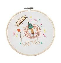 2 Pack Handmade Embroidery DIY Material Kits Simple Cross-stitch Paintin... - $23.00
