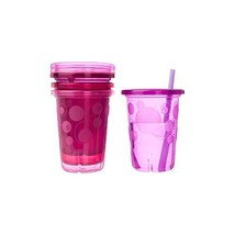 The First Years Take & Toss Spill-Proof Straw Cups - Pink Colors - 1 Set - $12.97