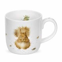 Royal Worcester Wrendale Designs Mug - Treetops Redhead Squirrel, 11 oz - $14.78