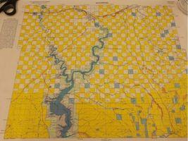 "Vintage 1980 Lot (8) Wyoming Quad Index Map US Dept of Interior 22x16.5"" 2 Sided image 5"