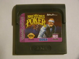 SEGA GAME GEAR - POKER FACE PAUL'S POKER (Game Only) - $6.75