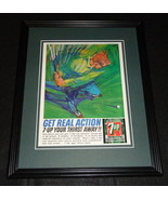1964 Seven Up 7 Up 11x14 Framed ORIGINAL Vintage Advertisement - $32.36