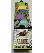 Brand New Hanna Barbera Classic Cartoon 6 Pair Casual CREW SOCKS Set Siz... - $17.36
