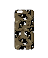 Marine Whale Printed Lightweight Plastic Hardshell Case for Apple iPhone... - $19.99