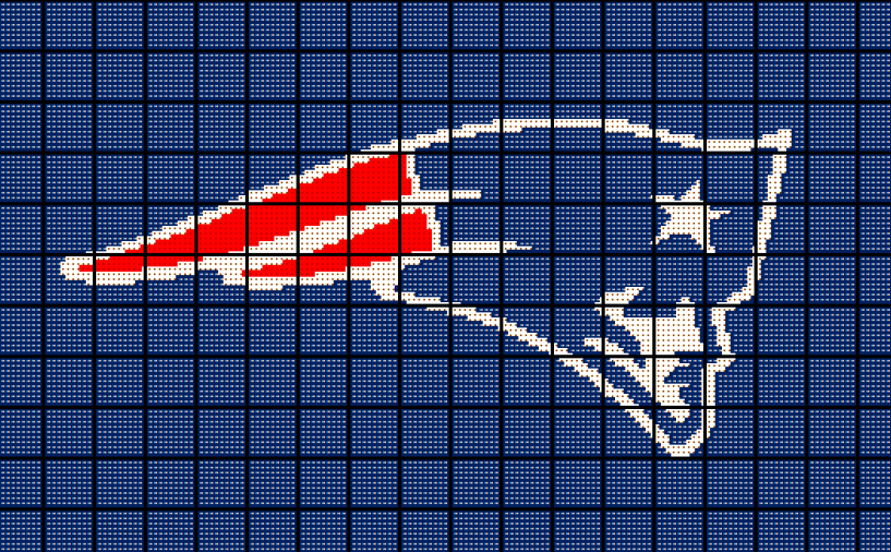 first rate f9b09 a61b5 New England Patriots Baby Crochet Blanket and 50 similar items
