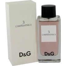 L'imperatrice 3 Perfume By  DOLCE & GABBANA  FOR WOMEN 3.3 oz - $95.00