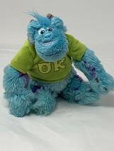 Disney Pixar Plush Monsters University Sully in OK Oozma Kappa T-shirt7... - $9.89