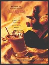 Kahlua Mudslide Recipe AD 1996 Liqueur Mayan Figural Fun Label Slide - $9.99