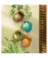 Santa Fe Dangling Mini Pots - $17.95