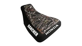 Honda Rancher Seat Cover Camo And Black Honda And Rancher Logo Year 2004... - $45.99