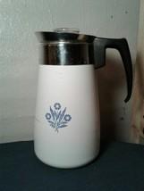 Corning Ware 9 Cup Stovetop Percolator Blue Cornflower (rc1) - $46.74