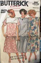 Butterick 3645 Misses Maternity Dress Size 12-14-16 uncut - $5.50