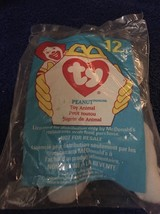 """Ty TEENIE 3"""" Beanie Babies 1998  #12 Peanut The Elephant  w/ Tag Excellent NIP - $1.14"""