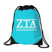 Zta Zeta Tau Alpha Drawstring Bags - $32.00