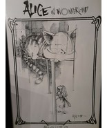 "ALICE IN WONDERLAND ""CHESIRE CAT"" RALPH STEADMAN POSTER 24 X 36 - FREE ... - $70.13"