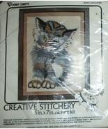 "Creative Stitchery Kitten #2102 5"" x 7"" NEW - $9.89"