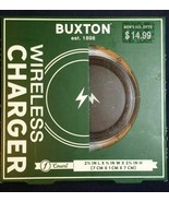 new Buxton Wireless iPhone Charger New 5/5S/5C/5SE/6/6 Plus/6S/6S Plus/7 - $9.73
