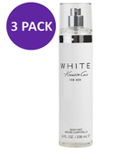 Kenneth Cole WHITE Kenneth Cole Body Spray For Women 8.0 oz (PACK OF 3) - $38.95