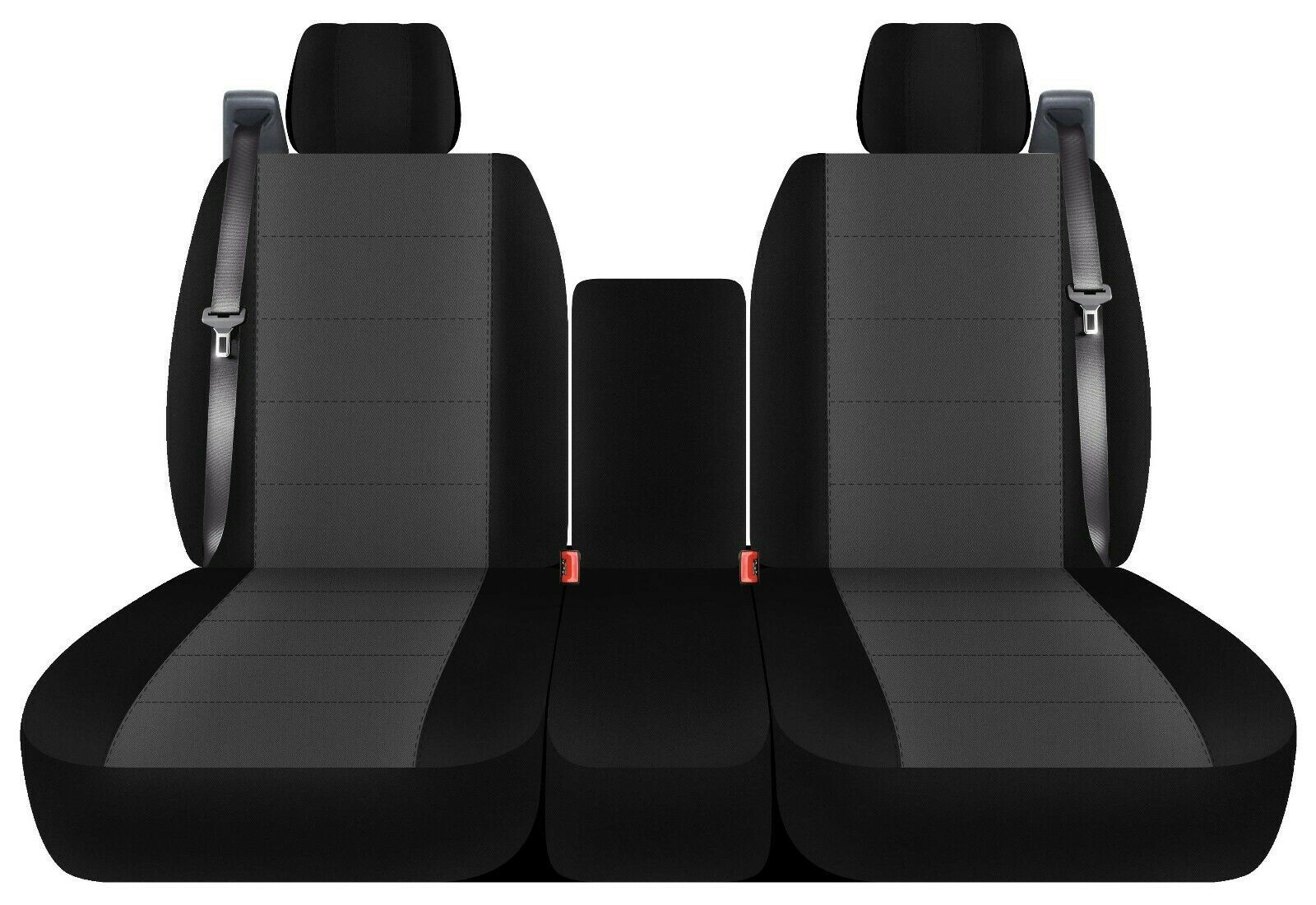 Front set 40/20/40 car seat covers fits FORD F150 TRUCK 2004-2008 select style - $93.14 - $102.49