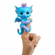 WowWee Fingerlings - Glitter Dragon - Tara (Blue with Purple) - Interactive B... - $24.24