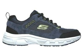 Skechers Relaxed Fit Oak Canyon Blue Men's Athletic Sneakers Shoes 51893 - $35.99