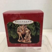 1999 Old West #2 Prospector Hallmark Christmas Tree Ornament MIB Price T... - $14.36