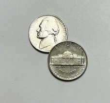1943 D Jefferson Wartime Nickel AU About Uncirculated 35% Silver - $13.25