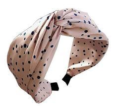 Women Stylish Headband Fabric Headband Cloth Bow-knot Hairband #16 - $13.00