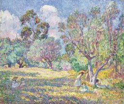 The Museum Outlet - Children on the Glade, 1906... - $98.01