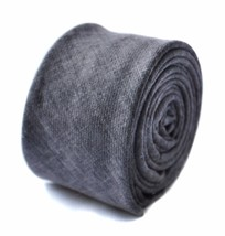 Frederick Thomas hommes skinny bleu/gris coton cravate ft1635