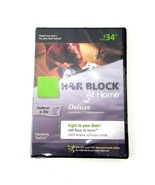 H&R Block at Home 2009 Deluxe Federal E-File Software Brand New - $12.19