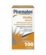 Pharmaton Vitality Capsules 100 Caps - $29.41