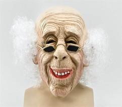 Old Man Mask & Hair,  HALLOWEEN EYE MASK, FANCY DRESS - $24.11 CAD