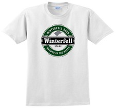 Game of Thrones Winterfell Beer T Shirt U Pick Size S M L XL 2XL 3XL 4XL... - $19.99+