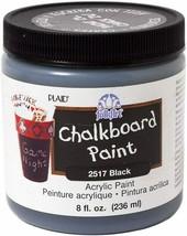FolkArt Chalkboard Paint in Black (8 Ounce) #2157
