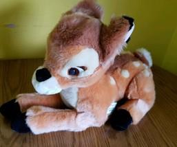 "Disney Store Bambi Deer Plush Stuffed Animal 13"" NEW with Tag - $19.48"