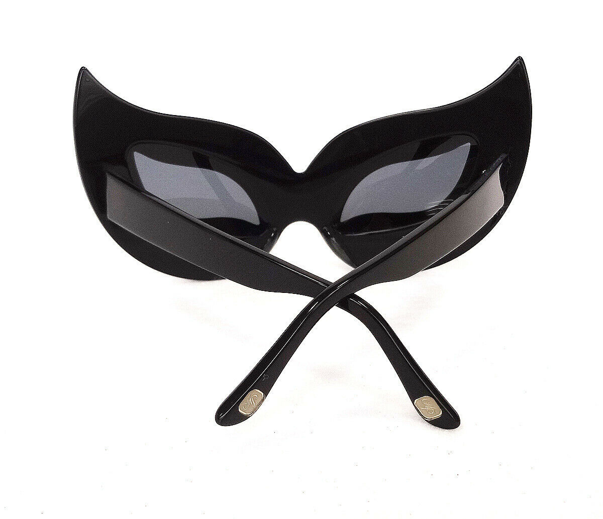 AGENT PROVOCATEUR x LINDA FARROW Disguise Me Black Silver Mask JAPAN - New!