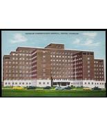 Veterans Hospital Postcard Denver Colorado Cars 1951 CO PC - $14.99