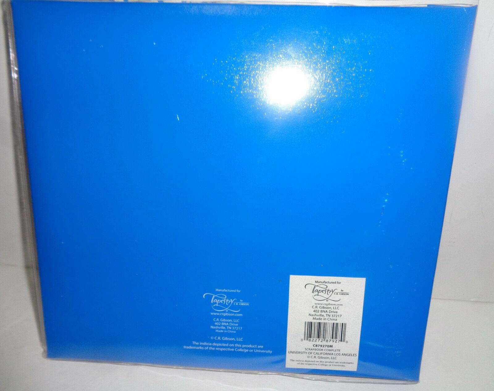 UCLA University Complete Scrapbook NWT Fast Easy Blue Collegiate Licensed