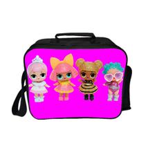 L O L Surprise Lunch Box Pink Series Lunch Bag Pattern E - $414,37 MXN