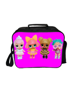 L O L Surprise Lunch Box Pink Series Lunch Bag Pattern E - $23.99